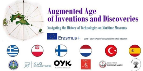 Projekt Erasmus+ 2018-1-ES01-KA229-049979 Augmented Age of Inventions and Discoveries